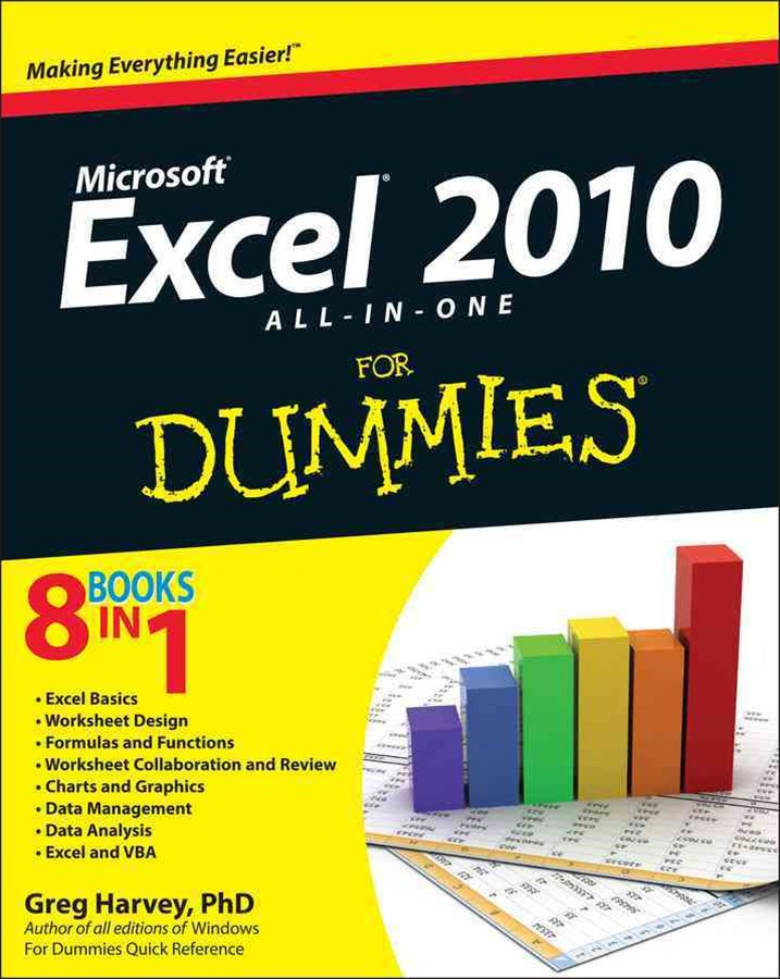 Excel 2010 All-In-One for Dummies®