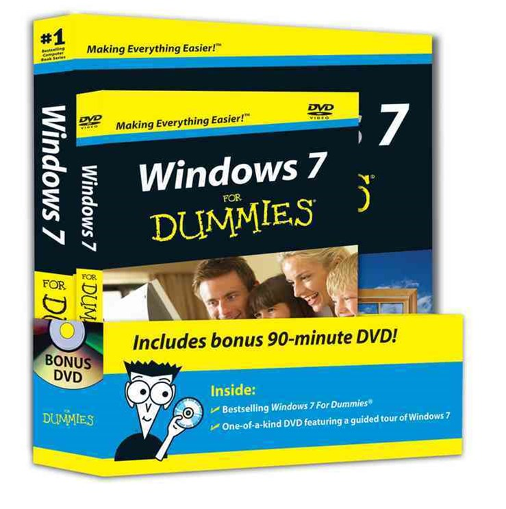 Windows 7 for Dummies® Dvd+book Bundle