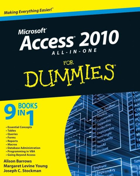 Access 2010 All-In-One for Dummies®