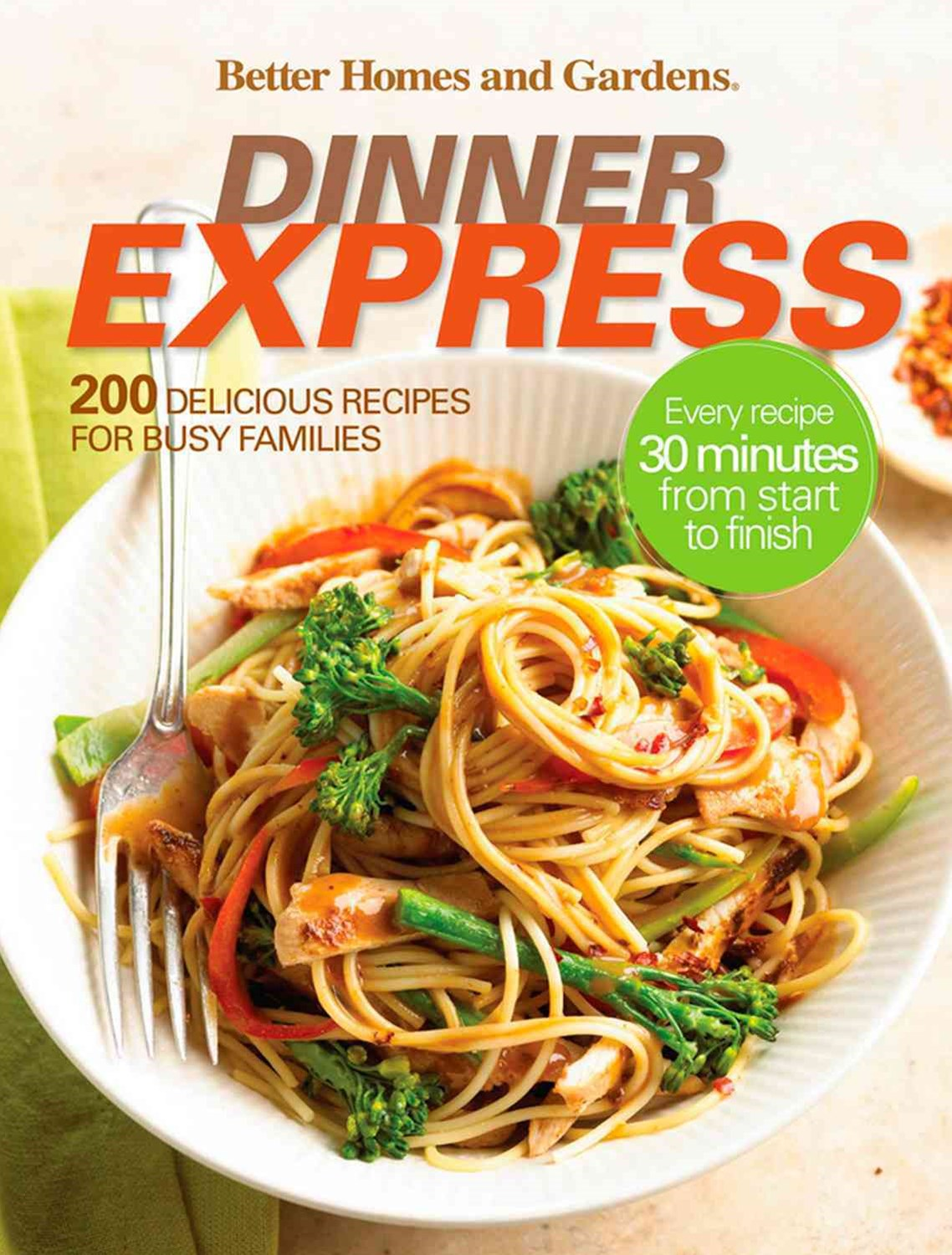 Dinner Express: Better Homes and Gardens