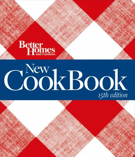 New Cook Book, 15th Edition (Binder): Better Homes and Gardens