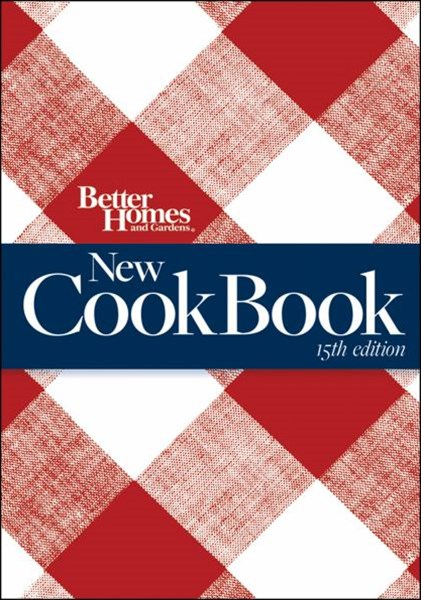New Cook Book, 15th Edition (Combbound): Better Homes and Gardens