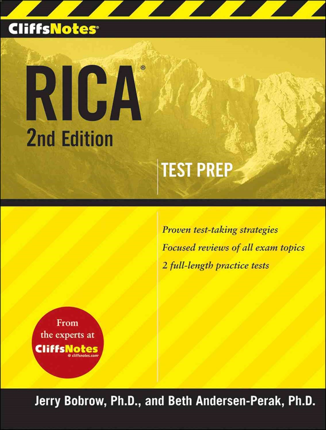 CliffsNotes RICA:  2nd Edition