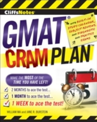 CliffsNotes GMAT Cram Plan