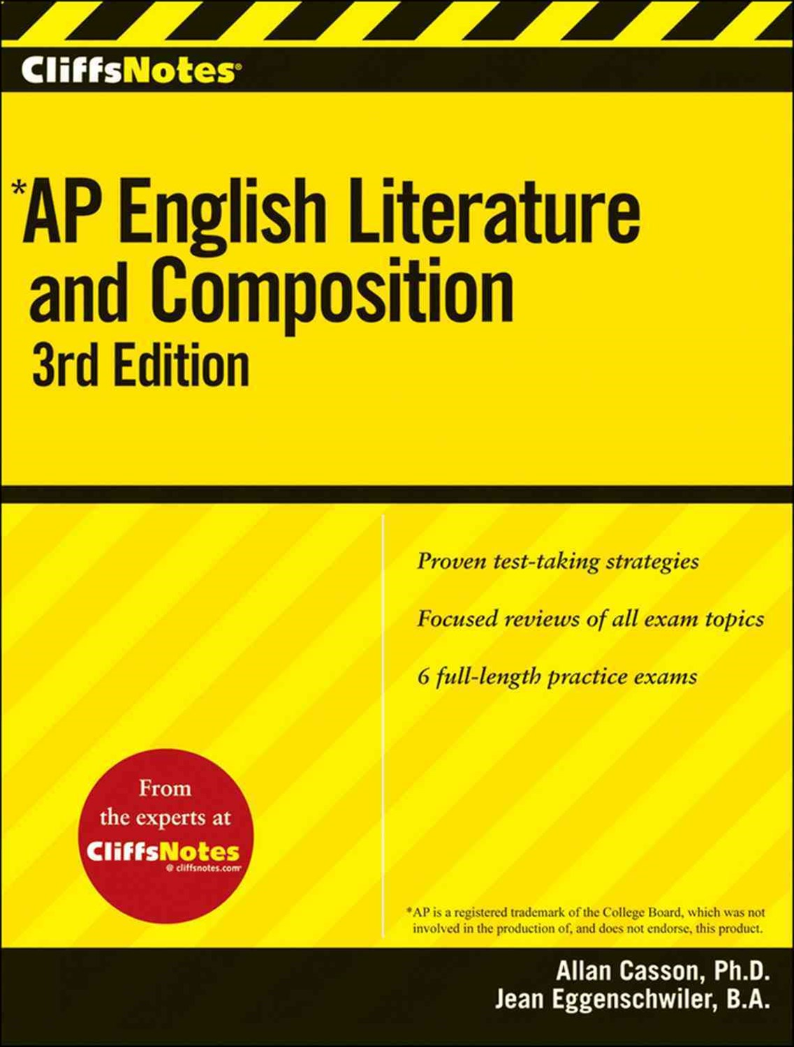 CliffsNotes AP English Literature and Composition: 3rd Edition
