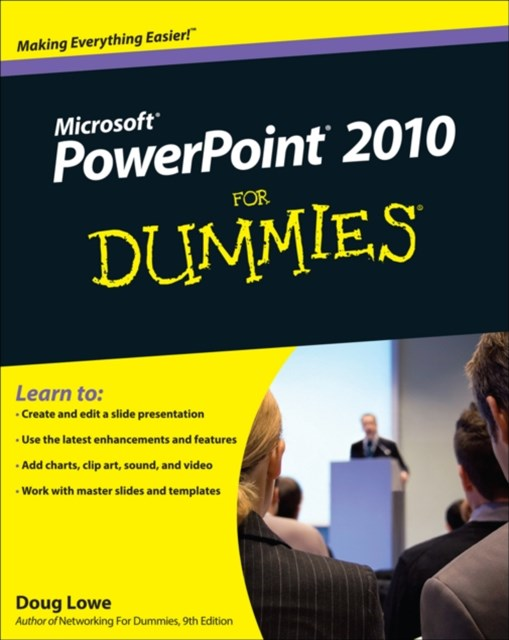(ebook) PowerPoint 2010 For Dummies
