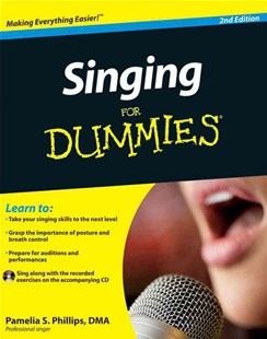Singing For Dummies by Pamelia S. Phillips (9780470640203) - PaperBack - Entertainment Music General