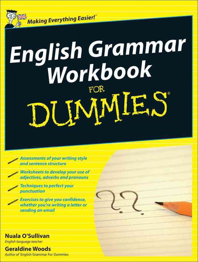 English Grammar Workbook for Dummies, UK Edition