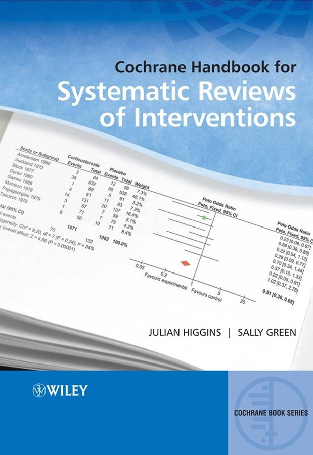Cochrane Handbook for Systematic Reviews of       Interventions - Cochrane Book Series