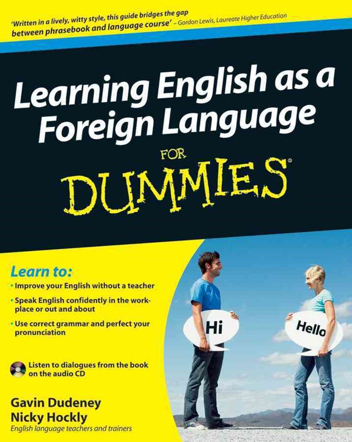 Learning English as a Foreign Language for Dummies+ CD