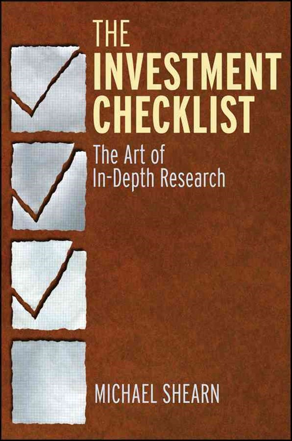 The Investment Checklist