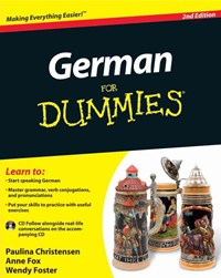 German for Dummies, 2nd Edition with CD