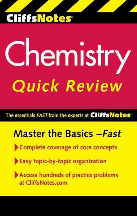 CliffsNotes Chemistry Quick Review: 2nd Edition