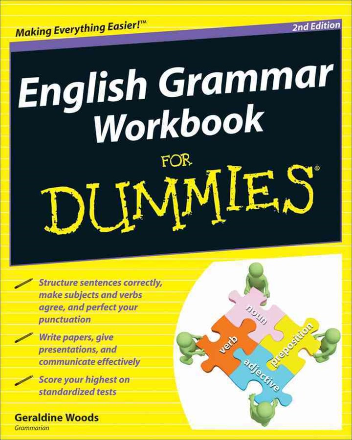 English Grammar Workbook for Dummies, 2nd Edition