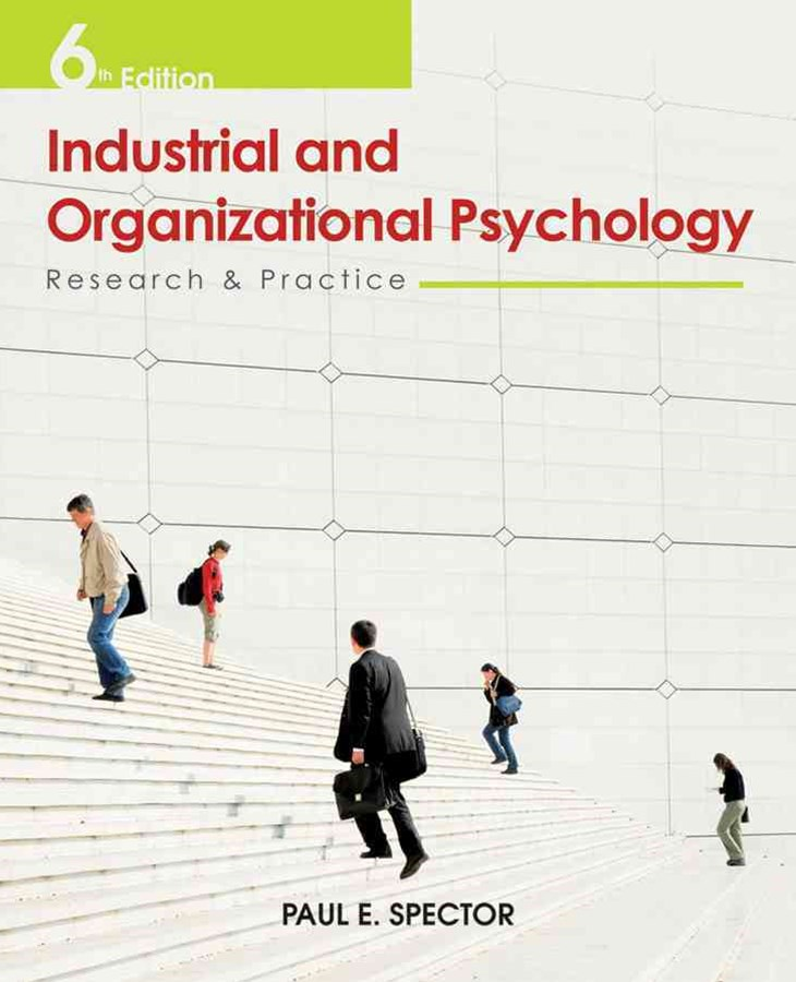Industrial and Organisational Psychology Research and Practice 6E
