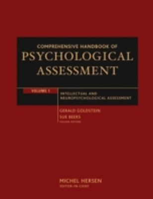 (ebook) Comprehensive Handbook of Psychological Assessment, Volume 1