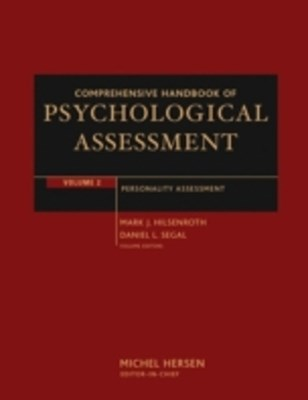 (ebook) Comprehensive Handbook of Psychological Assessment, Volume 2