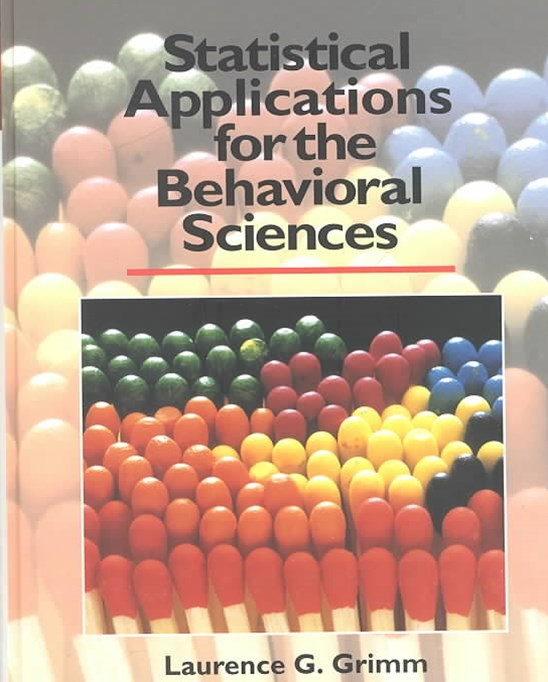 Statistical Applications for the Behavioural Sciences
