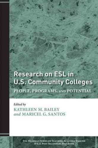 Research on ESL in U. S. Community Colleges