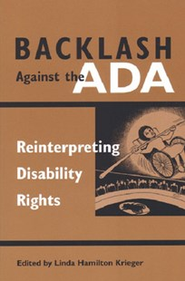 Backlash Against the ADA by  (9780472068258) - PaperBack
