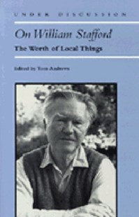 On William Stafford by Tom Andrews (9780472083213) - PaperBack - Poetry & Drama Poetry