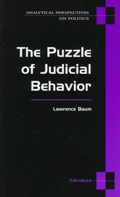 Puzzle of Judicial Behavior