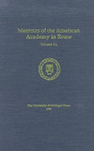Memoirs of the American Academy in Rome by Joseph Connors (9780472107209) - HardCover - Art & Architecture General Art