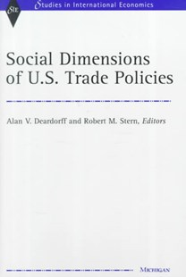 Social Dimensions of U. S. Trade Policies by  (9780472110995) - HardCover