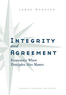Integrity and Agreement by Alanson Minkler (9780472116430) - HardCover