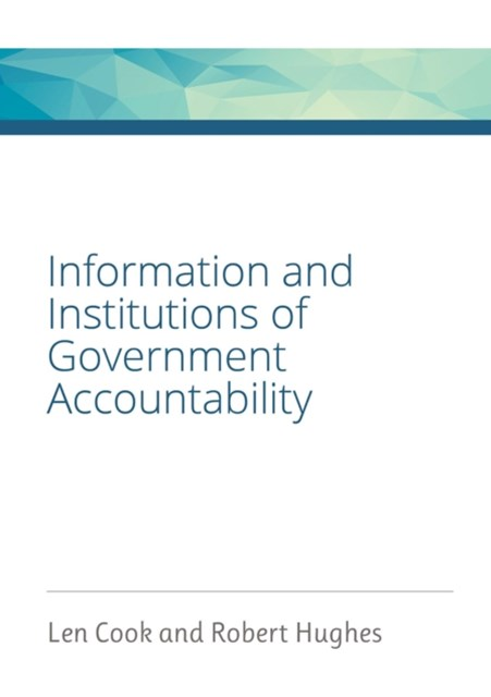 (ebook) Information and Institutions of Government Accountability