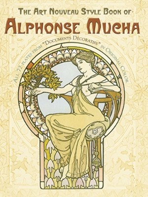 (ebook) The Art Nouveau Style Book of Alphonse Mucha