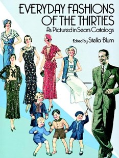 (ebook) Everyday Fashions of the Thirties As Pictured in Sears Catalogs - Craft & Hobbies Antiques and Collectibles