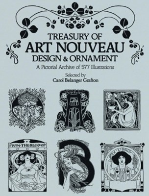 (ebook) Treasury of Art Nouveau Design & Ornament