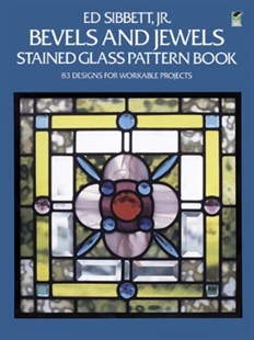 (ebook) Bevels and Jewels Stained Glass Pattern Book - Craft & Hobbies