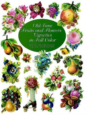 (ebook) Old-Time Fruits and Flowers Vignettes in Full Color