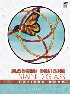 (ebook) Modern Designs Stained Glass Pattern Book - Craft & Hobbies