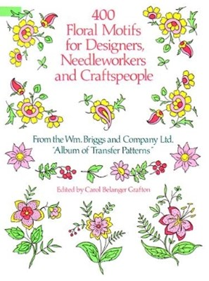 (ebook) 400 Floral Motifs for Designers, Needleworkers and Craftspeople