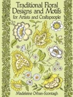 (ebook) Traditional Floral Designs and Motifs for Artists and Craftspeople