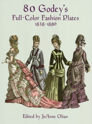 (ebook) 80 Godey's Full-Color Fashion Plates