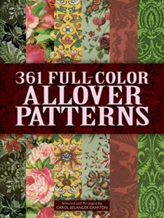 (ebook) 361 Full-Color Allover Patterns for Artists and Craftspeople - Art & Architecture General Art