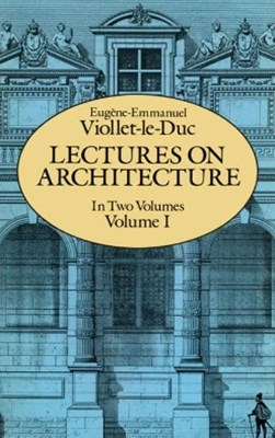 (ebook) Lectures on Architecture, Volume I