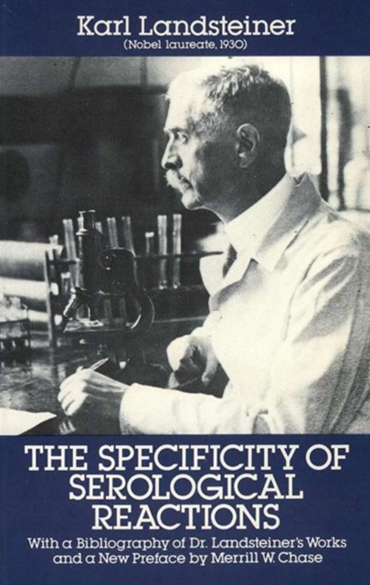 (ebook) Specificity of Serological Reactions