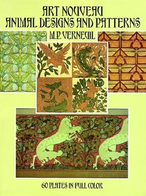 (ebook) Art Nouveau Animal Designs and Patterns