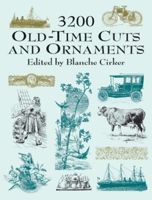 (ebook) 3200 Old-Time Cuts and Ornaments