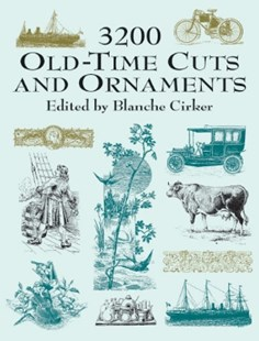 (ebook) 3200 Old-Time Cuts and Ornaments - Art & Architecture Art Technique