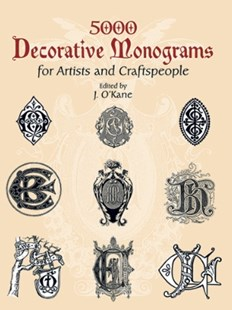 (ebook) 5000 Decorative Monograms for Artists and Craftspeople - Art & Architecture General Art