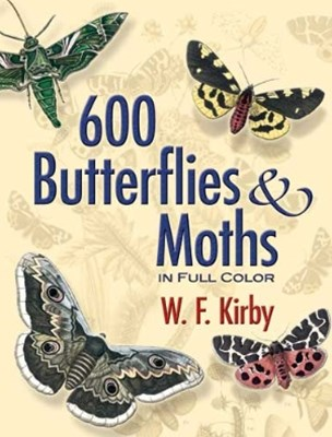 (ebook) 600 Butterflies and Moths in Full Color