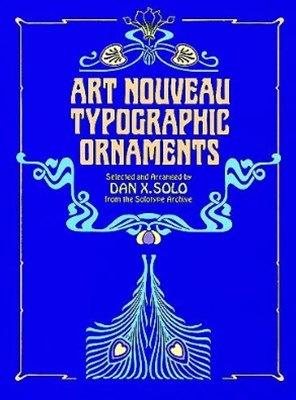 (ebook) Art Nouveau Typographic Ornaments
