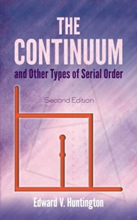 (ebook) The Continuum and Other Types of Serial Order - Science & Technology Mathematics