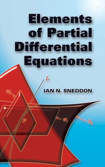 (ebook) Elements of Partial Differential Equations